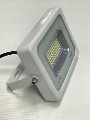 Светодиодный прожектор Slim SMD SL-2750 50W 6500K белый Код.57029, фото 2