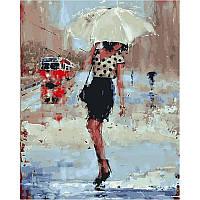 """VP834 Картина по номерам """"Дождливый день"""", 40*50 см, Babylon Turbo"""