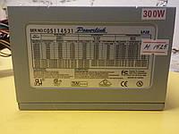 Блок питания Powerlink 300W 80 FAN