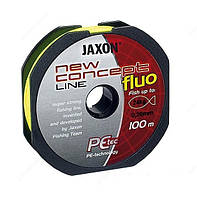 Шнур Jaxon new concept line Fluo 0.25mm 100m