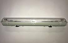 Линейный светильник под светодиодные лампы SL-40 2х20W Т8 IP65 Код.59042, фото 2