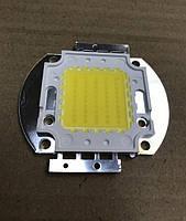 Светодиод матричный СОВ для прожектора 50W 4100К (45Х45 mil) Код.59118