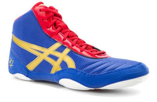 Детские борцовки, боксерки Asics JB Elite V2.0,Обувь для борьбы Асикс. Обувь для бокса Asics.