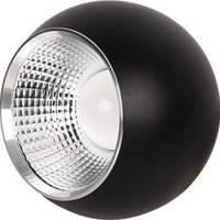 Светодиодный светильник Horoz (HL872L) 20W 6400K подвесной шар черный (потолочный) Код.57139