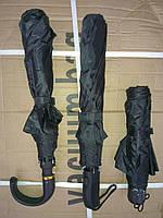 Зонт полуавтомат черный