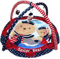 Развивающий коврик Мишка-моряк Baby Mix