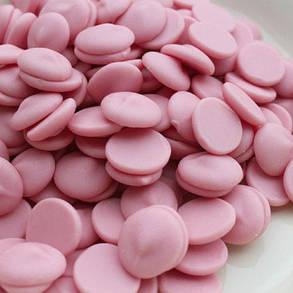 Barry Callebaut STRAWBERRY-E4-U70 Рожевий шоколад зі смаком полуниці, по 2,5 кг, фото 2