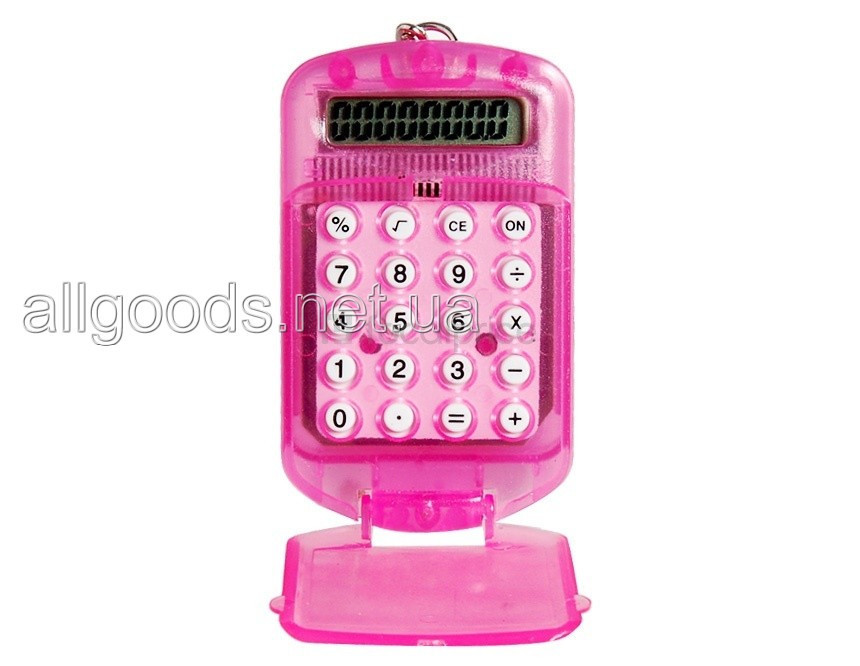 Калькулятор карманный в виде брелка