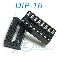 SCS-16, Панелька для установки микросхем DIP16, узкая