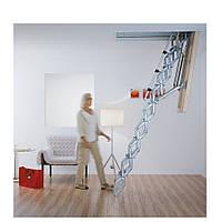 Чердачная лестница Roto Exclusiv металлическая ножничная 140 х 70 см