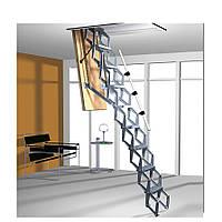 Чердачная лестница Roto Elektro металлическая с управлением 120 х 70 см