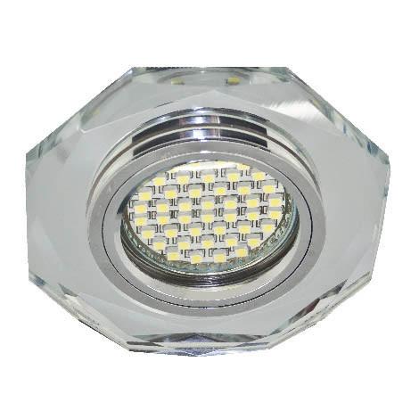 Светодиодный точечный светильник Feron MR16 с led подсветкой Код.58017