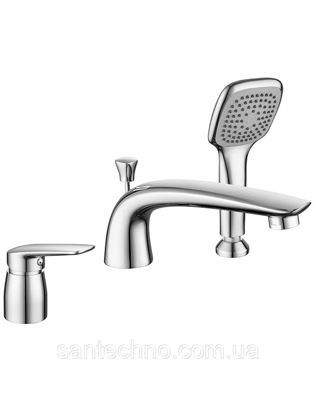 Врезной смеситель для ванны Imprese PRAHA new  85030 new