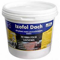 IZOFOL DACH / Изофол Дач - полимерное покрытие для гидроизоляции кровли (уп. 7 кг)