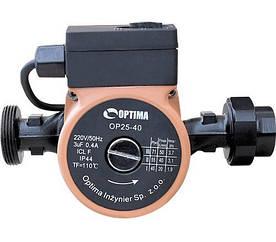 Циркуляційний Насос Optima OP 20-40 для Теплої Підлоги Оптима