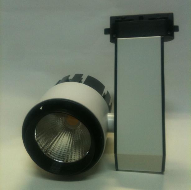 Светодиодный трековый светильник 20W 4200К белый Код.58550