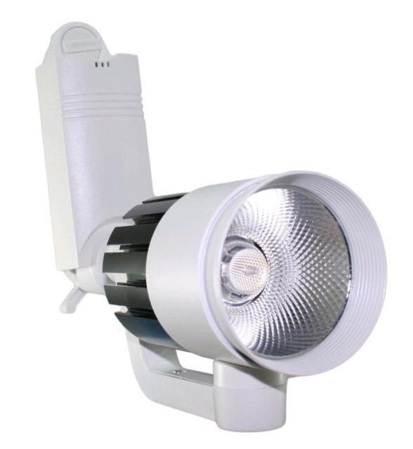 Светодиодный трековый светильник led 20W 6000К белый Код.58565