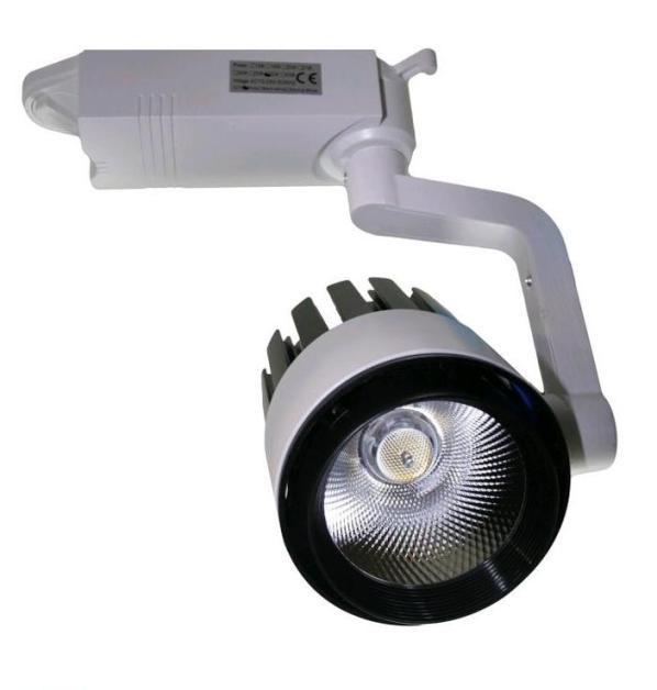 Светодиодный трековый светильник SL 30TRL/CW2 30W 6000К белый Код.58564