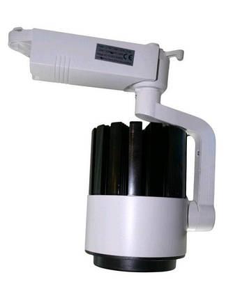 Светодиодный трековый светильник SL 30TRL/CW2 30W 6000К белый Код.58564, фото 2