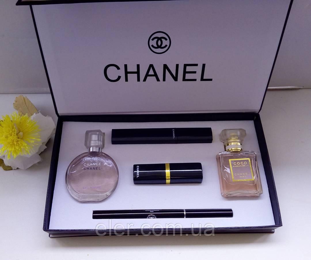 Подарочный набор парфюмерии Chanel