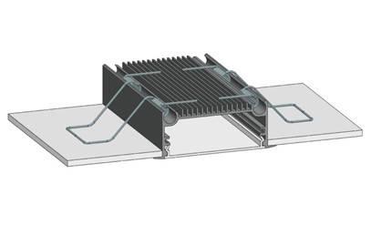 Пружина-фиксатор ПЛС 70 для профиля ЛСВ 70 Код.58710, фото 2