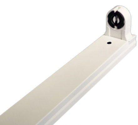 Металлическая лыжа для лампы led T8 G13 600mm Код.58737