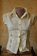 Блузка- рубашка Школьная батистовая