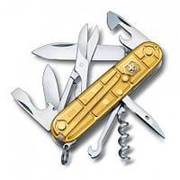 Швейцарский Складной нож Victorinox Climber 1.3703.T88 Желтый