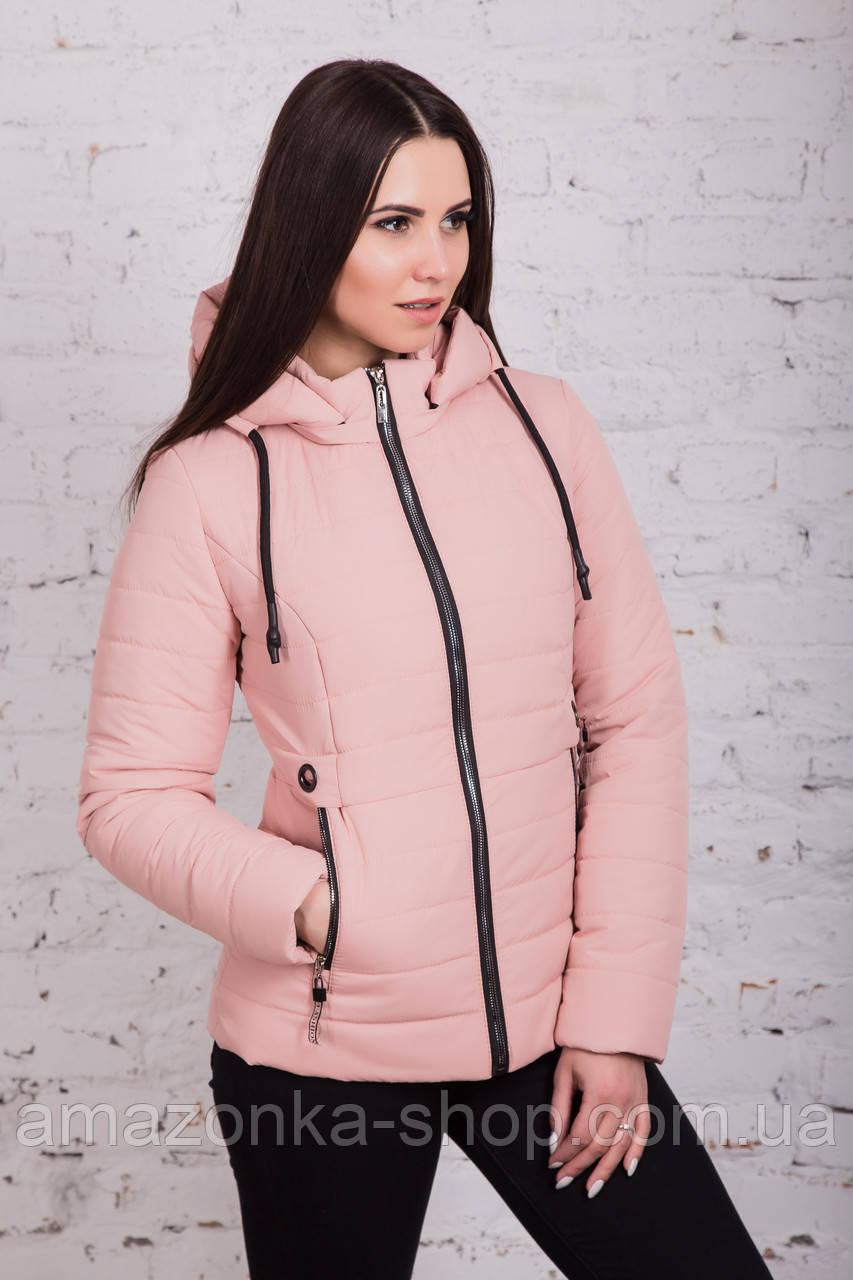 Стильная женская куртка на весну модель 2018 - (кт-239)