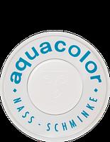 Белый компактный аквагрим Kryolan Aquacolor, 30 мл