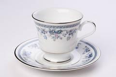 Чашка чайная с блюдцем 200мл Angel