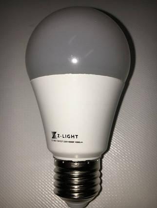 Светодиодная лампа Z- LIGHT ZL1003 12W А60 E27 4000K Код.58780, фото 2