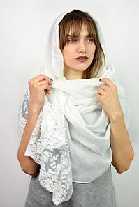 Шарф Деяна белый