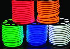LED НЕОН SMD 2835/120 220V белый теплый IP68 Код.58862, фото 2