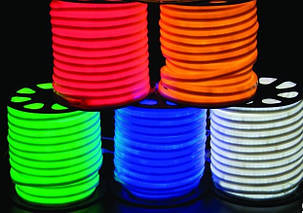 LED flex neon зеленый SL-001 SMD 2835/120 220V IP68 (1м) Код.58864, фото 2