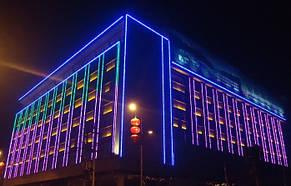 LED flex neon зеленый SL-001 SMD 2835/120 220V IP68 (1м) Код.58864, фото 3