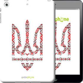 "Чехол на iPad mini Герб - вышиванка ""1195c-27-450"""