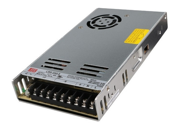 Блок питания Mean Well 5В; 60А; 300 Вт IP20 Код.59028