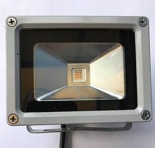 Светодиодный прожектор желтый SL-10 10W IP65 Код.59058, фото 2