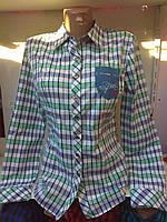 Женская рубашка с длинным рукавом  р. S,M,L,XL,XXL