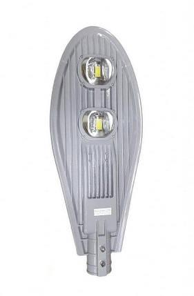 Led уличный консольный светильник SL48-100 100W 3000K Люкс Плюс Код.59074, фото 2