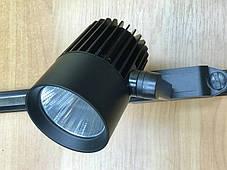 Трековый светильник светодиодный SL-4003 30W 4000К черный Код.58439, фото 3