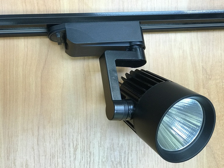 Трековый светильник на шинопроводе SL-4003 20W 6400К черный Код.58445