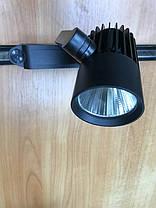 Трековый светильник на шинопроводе SL-4003 20W 6400К черный Код.58445, фото 2