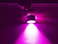 Светодиодный трековый фитосветильник SL-4003F 20W (full spectrum led) белый Код.59088, фото 3