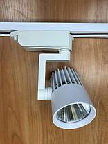 Светодиодный трековый фитосветильник SL-4003F 20W (full spectrum led) белый Код.59088, фото 2