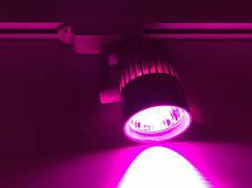 Светодиодный трековый фитосветильник SL-4003F 30W (full spectrum led) белый Код.59090, фото 3