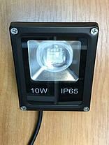Наружный прожектор 10W синий линзованый Код.59105, фото 3