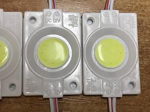 Светодиодный модуль COB 2.4W холодный белый IP65 12V Код.59160, фото 2