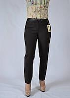 Женские брюки больших размеров баталы коричневые 8958-900 MURAY&Co Турция